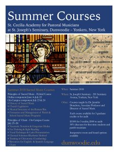 Summer 2018 Courses