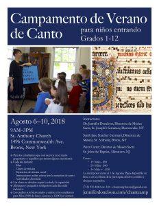 2018 flyer Spanish